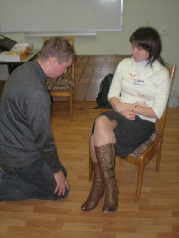 мужчину строгая женщина ищет послушного